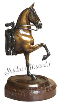 CLICK HERE FOR MORE HORSE SCULPTURE!