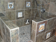 Melissa Moore's dog shower!